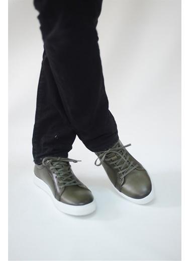 La scada Yeşıl Erkek Casual Ayakkabı Tp1010 Yeşil